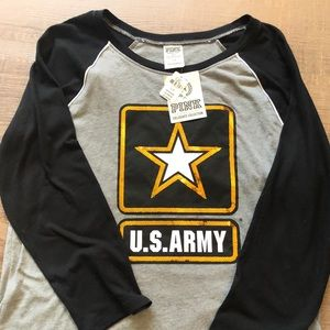 NEW ADD Pink Army long sleeve